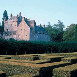 """Gorgeous gardens at Cawdor Castle, the """"legendary"""" home of Macbeth..."""