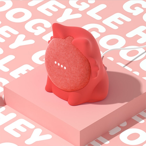 Odd-on Industries just launched Caat - a cute cat shaped silicone skin for your Google Home Mini.