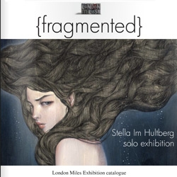 The exhibition catalog of FRAGMENTED Stella Im Hultberg's first UK solo show at London Miles.