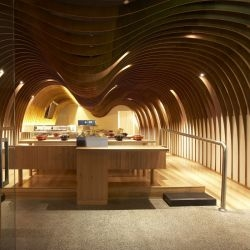 Koichi Takada Architects have completed the Cave Restaurant in Sydney, Australia.
