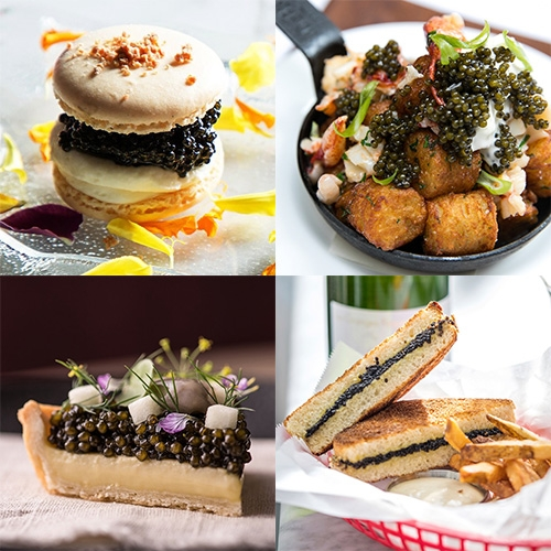 "Vogue takes a look at the creative ways Caviar is being served across America... ""Caviar Is Everywhere, Not Only for Special Occasions: Where to Eat the Ingredient of 2018"""