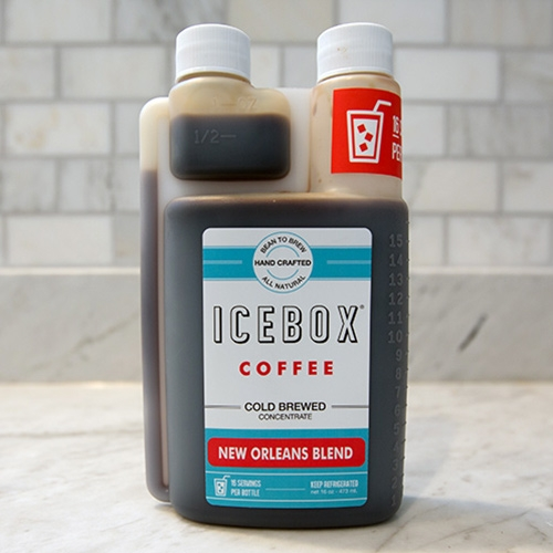 Icebox Coffee Concentrate has great packaging. Plastic twin neck bottles that allow for single handed precise dosing! (More commonly used for horticultural, chemicals, etc - but also perfect for coffee!)