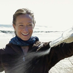Celine Cousteau, daughter of the famous explorer, on the beauty of glass.