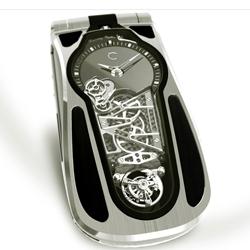 The Celsius X VI II LeDix, part pocket watch, part cell phone?