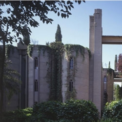 Find out what it looks like to live in a former cement factory. The Cement Factory loft is Spanish architect Ricardo Bofill's legendary and unusual live/work complex in Barcelona, as well as offices and a venue for exhibitions, lectures, and concerts.