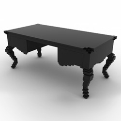 Another baroque furniture mashup, the Lego inspired CEO desk by Staffan Holm and Johannes Tjernberg