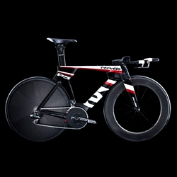 The Cervélo P5 is the world's most aerodynamic triathlon and time-trial bike yet. It even has aero storage spaces in the frame for snacks.