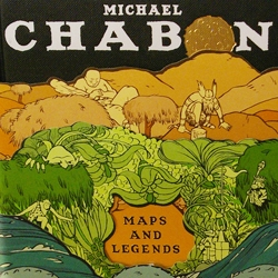 Jordan Crane has illustrated 3 separate belly bands for the new Michael Chabon book, Maps and Legends. (published by McSweeney's)