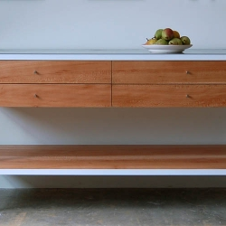 Beautiful handmade furniture crafted from sustainable materials! Chad's work is simply amazing.
