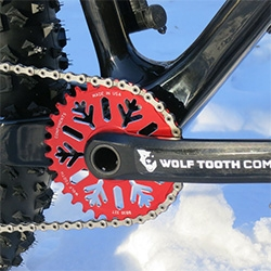 Wolf Tooth Components Snowflake Chainrings for sram x9 fat crank & bb30 short spindle cranks