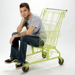 Shopping cart chair case-study by a Los Angeles Product Design Student.