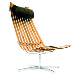 Serious chair lusting - Scandia Senior Easy Chair designed in 1957 by Hans Brattrud of Norway.