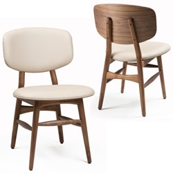Butterfly Chair in walnut, part of the Autoban Built by De La Espada Collection