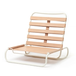 Outdoor Events Chair by Glen Baghurst is an elegant modern take on 19th century British campaign furniture.