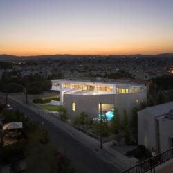 Armon Choros Architects have designed the Chalkidos Street Residence in Larnaca, Cyprus.