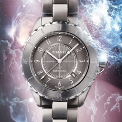 Discover the brand new Chanel J12 Chromatic in titanium ceramic, with an amazing video promo.