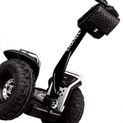 Chanel's Segway designed by Karl Lagerfeld is the perfect cruiser for Fifth Avenue.