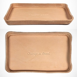 Change Is Good - Ace x Billy Kirk leather tray