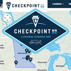 Checkpoint Minnesota ~ the US' largest statewide scavenger hunt!