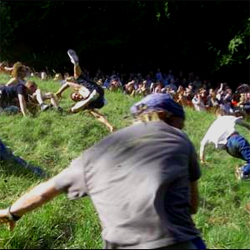 apparently cheese rolling in gloucester is serious business.  wow.