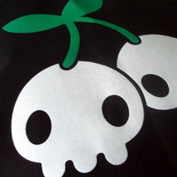 Cherryskulls, GhostBears and Robots...just some of the things you'll find on this collection of tees and bags
