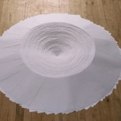 Chronicle by Kate Torgersen, made using only office paper.
