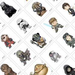 What's better than Star Wars characters? SUPER TINY CUTE Star Wars characters! What's better than super tiny cute Star Wars characters? A whole ALPHABET of them! Illustrated by Joe Wight!