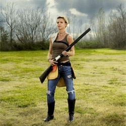 Photographer Lindsay McCrum's 'Chicks with Guns' captures the women and girls of America and their passion ... guns.