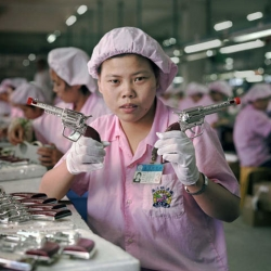 China makes 70% of the world's toys. These photos are an interesting look at a Chinese toy factory