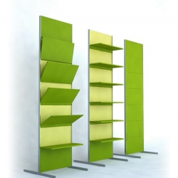 A convertible storage system by Andrey Bondarenko, this looks like it would be great for the office...