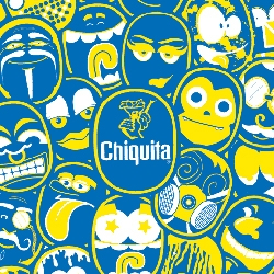 The iconic Chiquita banana sticker gets a brand refresh. The latest campaign includes a series of over 20 fun label  illustrations. Read and see more about the process in an interview with the designer, DJ Neff.