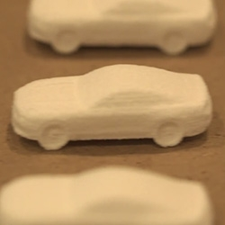 Ford 3D Prints the 2015 Mustang in Chocolate/Sugar! With help from 3D Systems and the Sugar Lab...