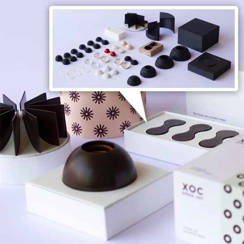 Xoc Doná Joc - a fascinating look into the making of their unique geometric chocolate molds.