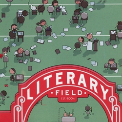 """Finish Line"" is Chris Ware's latest illustration for The New Yorker magazine's Summer Fiction issue."