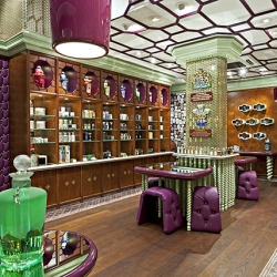 Penhaligon's new shop on Regent Street in London is an eccentric Edwardian styled perfume emporium designed by Christopher Jenner.