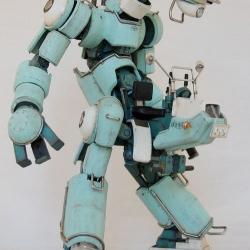 Jaw-dropping robot model kit by Kazushi Kobayashi. Sadly, only for sale in Japan.