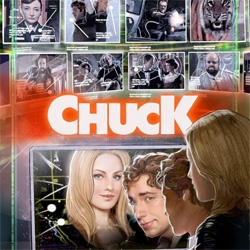 Fun War Games inspired poster for Chuck... also a few others that were shown at comic-con to promote the fan created poster contest