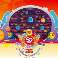 In 2008 the most famous lollipop brand in the world turns 50. Chupa Chups has decided to celebrate its important anniversary by launching a rich and colorful website.