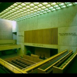 Fascinating story about a gorgeous I.M. Pei-designed church in Washington, D.C. whose congregation has sued the city for declaring it an historic landmark (they want to demolish!)