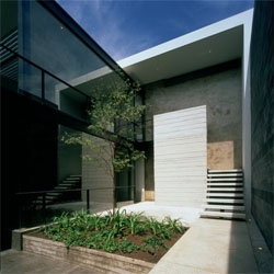 Office for CIME by AD11 Architects in Guadalajara, México. A very stylish design on an historic neighborhood.