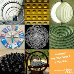 Inspiration: Circles! Fun circular inspiration from across the web...