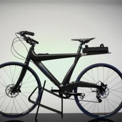 The new city bike in carbon-fiber by Alberto Del Biondi Industria del Design for Le Coq Sportif