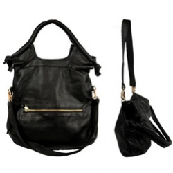 Anna Corinna City Tote - my newest purse addition - love the duality of the shape - and supple black leather yet oh so functional