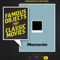 Famous Objects from Classic Movies ~ it's like object/movie hangman