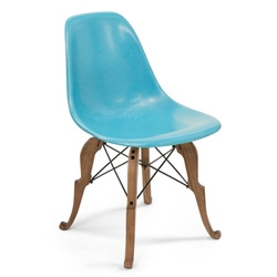 A twist on the classic ~ Modernica Prince Charles Chair ~ Designer/Artist Peter Shire presented his new chair, a collaborative project with Modernica Studio ~ for their big 20th anniversary!