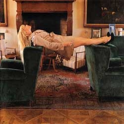 Erwin Wurm photographed Claudia Schiffer for the November issue of the German Vogue.