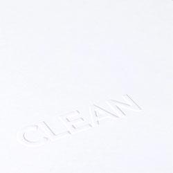Minimalist stationery for Toronto design studio Clean.