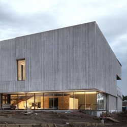 First look of the beautiful Clyfford Still Museum in Denver.  By Allied Works Architecture.