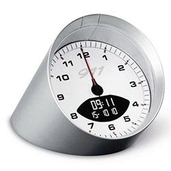 "Porsche 911 Alarm Clock - ""Alarm features the sound of the Porsche 911 engine."""