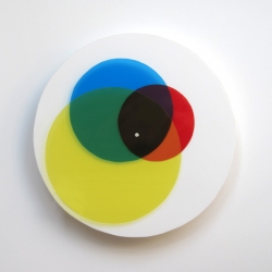 'About-Time' is a clock that challenges our power of perception. Relying solely on visual information in the form of varying colors and shapes, time is manifested into a new and purely visual language.